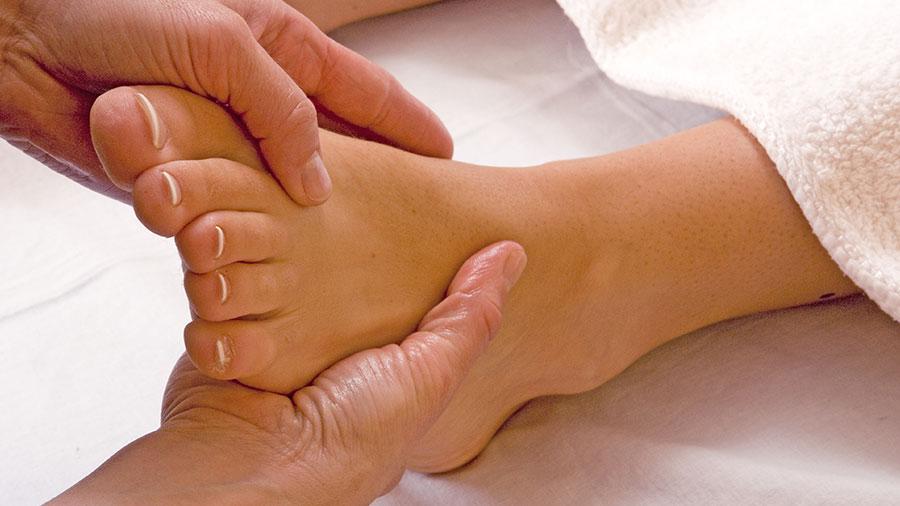 Une thérapie aux pieds nus